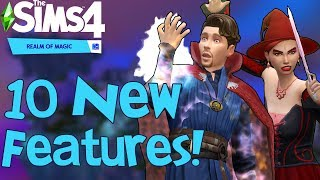 The Sims 4 Realm of Magic: 10 NEW FEATURES You Might Not Know
