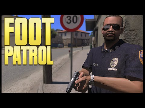 COPS - Foot Patrol - (Altis Life RPG) (Arma 3)
