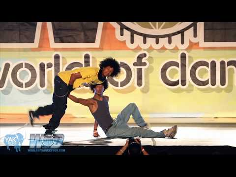 LES TWINS World of Dance San Diego 2010 WOD | YAK FILMS