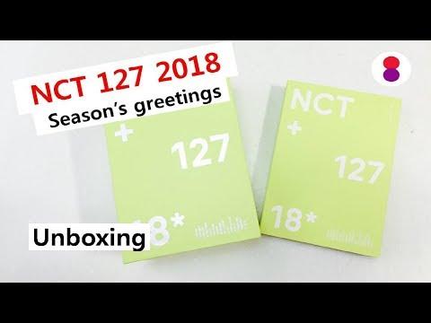 NCT 127 2018 seasons greetings unboxing review 엔씨티 エヌシーティー127