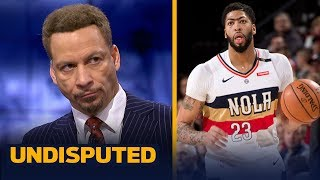 Chris Broussard disagrees with Alvin Gentry on Anthony Davis receiving bad advice | NBA | UNDISPUTED