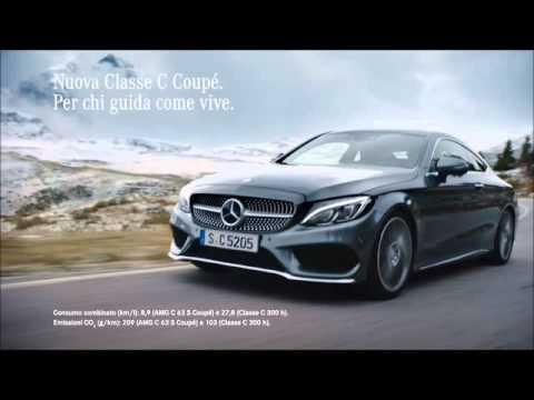 Nuova Mercedes Classe C coupè.Per chi guida come vive