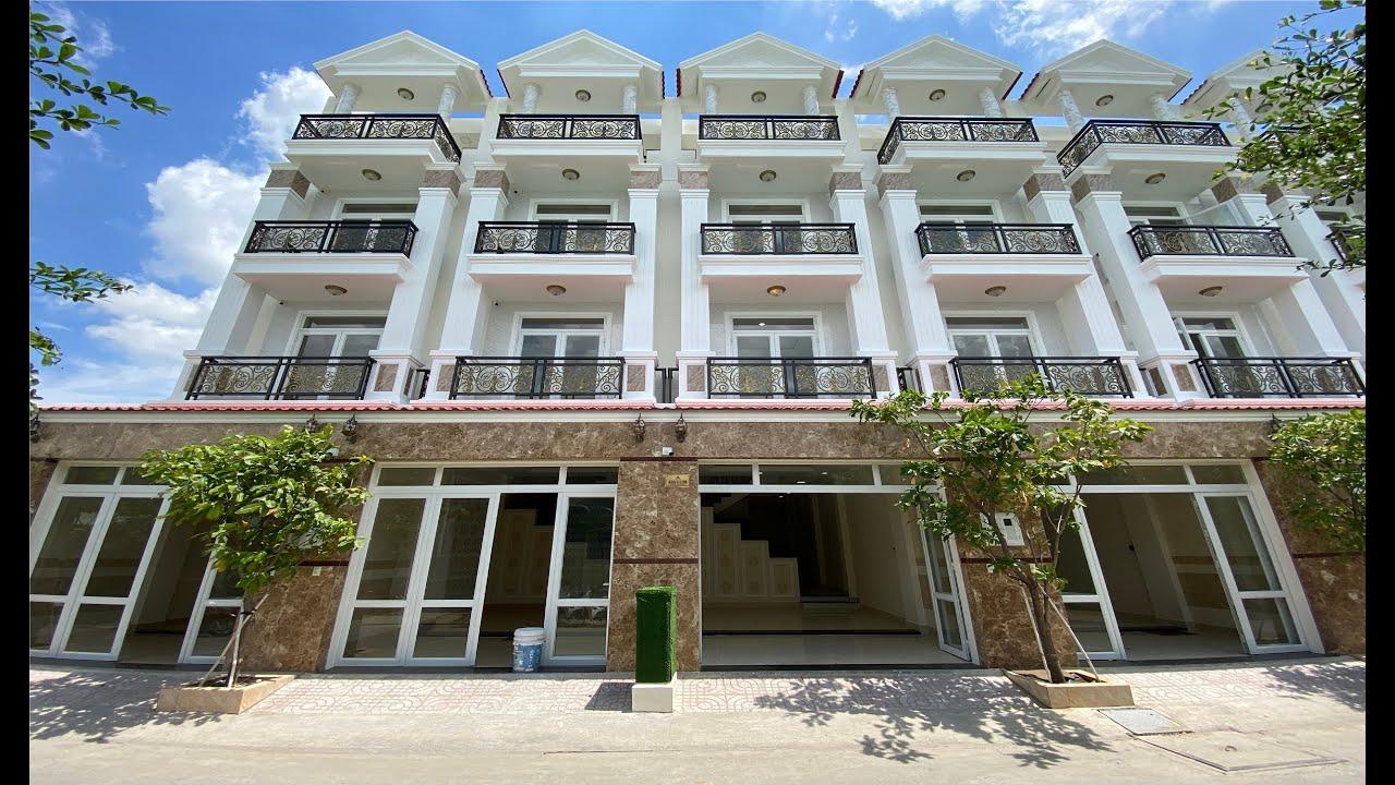 Bán nhà dự án D - Village 4 tầng hẻm 535 Quốc Lộ 13, Hiệp Bình Phước, sát khu đô thị Vạn Phúc video