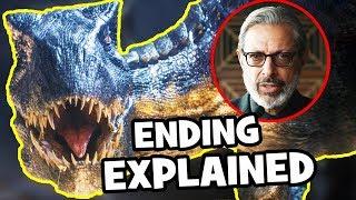 Jurassic World Fallen Kingdom ENDING & POST-CREDITS Explained, Jurassic World 3 & Easter Eggs