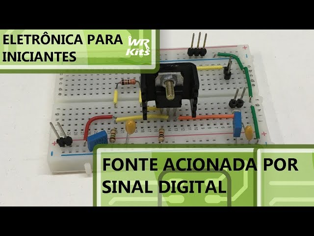 FONTE ACIONADA POR SINAL DIGITAL | Eletrônica para Iniciantes #087
