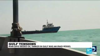 Irán se apodera de un petrolero iraquí en el Golfo Pérsico