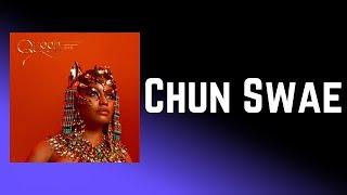 Nicki Minaj - Chun Swae (Lyrics) feat. Swae Lee