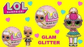 LOL Surprise GLAM Glitter Unboxing NEW Blind Bag Balls   SPRiNKLED DONUTS