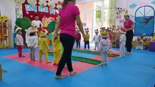 Lĩnh vực phát triển thể chất - lớp nhà trẻ