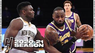 New Orleans Pelicans vs Los Angeles Lakers - Full Game Highlights | January 15, 2021 NBA Season