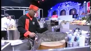 Màn mổ Cá Sấu ngay tại cuộc thi đầu bếp ( Iron chef  Thai Lang )