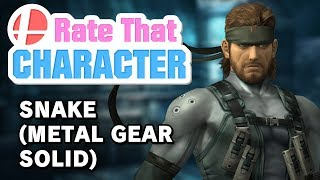 Solid Snake - Rate That Character