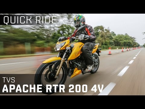 TVS Apache RTR 200 4V :: Quick Ride Review