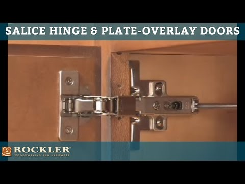 Rockler S Salice Hinge And Plate For Overlay Doors Youtube