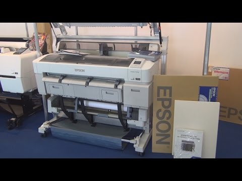 Epson SureColor SC-T5200D printer review in 3D