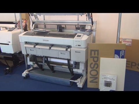 Epson SureColor SC-T5200D printer review in 3D