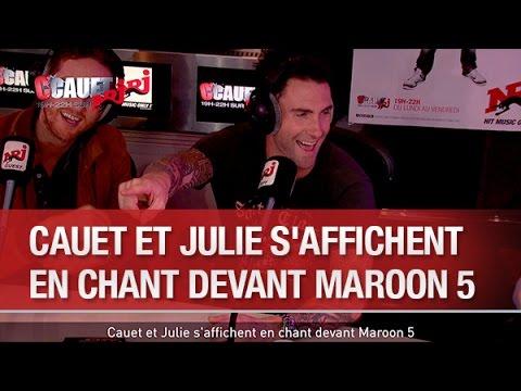 Baixar Cauet et Julie s'affichent en chant devant Maroon 5 - C'Cauet sur NRJ
