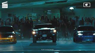 Fast & Furious : A Tight Race HD CLIP