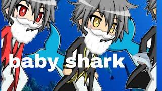Baby shark 🦈 (meme gacha studio)