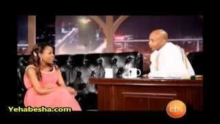 Meseret Defar interview on Seifu Fantahun Show On EBS