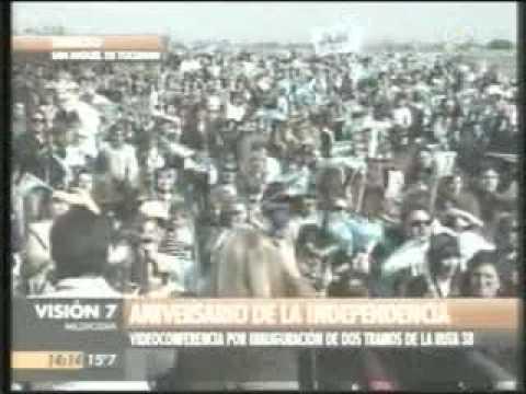 Inauguracion dos tramos ruta 38 Tucumán.mpg