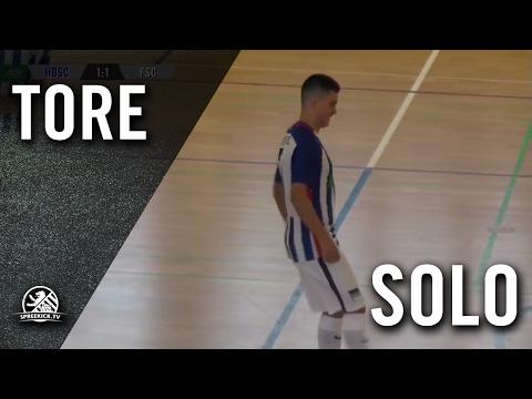 Sololauf mit Zidaneabschluss von Emincan Tekin (Hertha BSC, U15 C-Junioren) | SPREEKICK.TV
