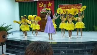 Tiết mục của trường An Ninh Đông số1. Kỉ niệm 36 năm ngày Nhà giáo Việt Nam.