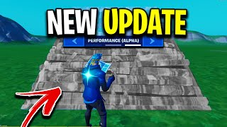 Fortnite *Patched* Bubble Wrap Builds... (Performance Mode Update)