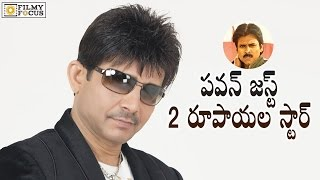 Kamaal R Khan Controversial Comments on Pawan Kalyan..