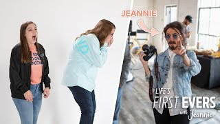 'Life's First Evers with Jeannie': Jeannie in Disguise Surprises Two Fans