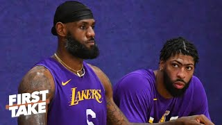 Stephen A. recaps his concerns about the Lakers' pursuit of the 2019-20 championship | First Take