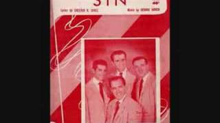 """""""(It's No) Sin"""" - The Four Aces  (original 1951 version)"""