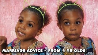 TWINS GIVE THE BEST MARRIAGE ADVICE   TWIN TALK