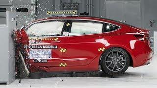 Crash Testing Tesla Model 3