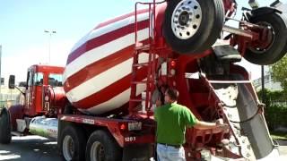 CNG truck at Ozinga