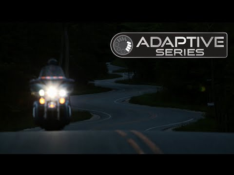 A New Adaptive LED Motorcycle Headlight That Outshines All Others