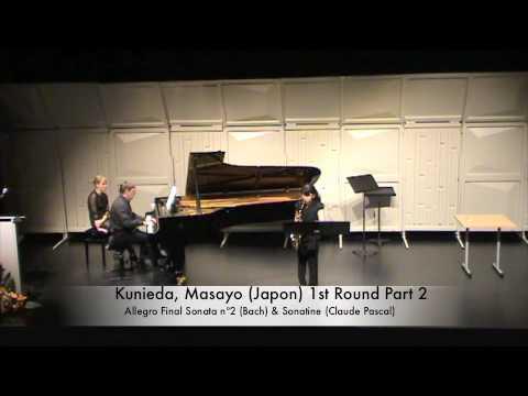 Kunieda, Masayo (Japon) 1st Round Part 2