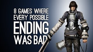 8 Games Where Every Possible Ending Was Bad, Sad or Both