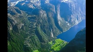 Lysevegen Mountain Road  Norway, Eagles Nest RD