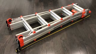 Little Giant 22 Foot Ladder: A REAL REVIEW, TUTORIAL, AND UNBOX