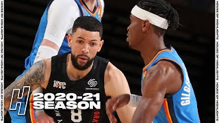 Oklahoma City Thunder vs New York Knicks - Full Game Highlights | January 8, 2021 NBA Season