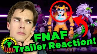 MatPat REACTS To The FNAF Security Breach Trailer!