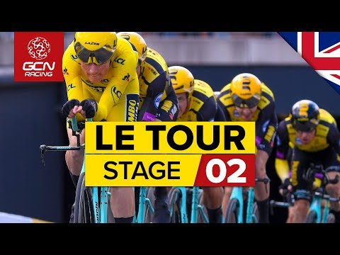Le Tour de France 2019 Stage 2 Highlights: Brussels Team Time Trial | GCN Racing
