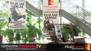 'Baja SAE Kansas Announcement (full program) - Pittsburg State University