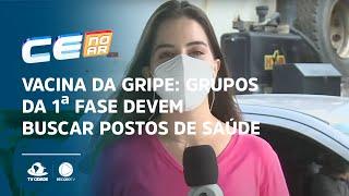 VACINA DA GRIPE: Grupos da 1ª fase devem buscar postos de saúde até 10 de maio