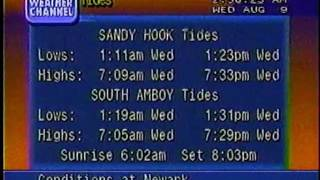 Weather Channel local forecast (1995)