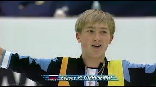 """[HD] Evgeni Plushenko """"Hava Nagila"""" 1998 NHK Trophy Short Program プルシェンコ Евгений Плющенко"""