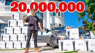 20,000,000 SUBSCRIBERS. (THE BIG GIVEAWAY)