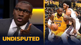 Shannon agrees with Draymond Green on LeBron's discipline leading Lakers to title   NBA   UNDISPUTED