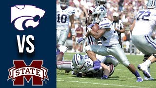 Week 3 2019 Kansas State vs Mississippi State Full Game Highlights 9/14/2019